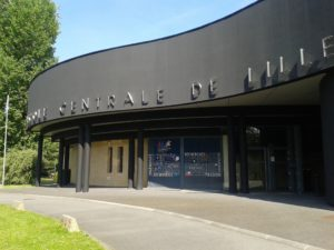 Facade of the Ecole Centrale de Lille